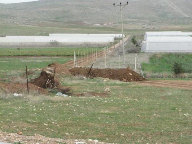 <p>[] 3  Trench dug by Israel to block access to the Bedouin community of al-Hadidiya; Ro'i settlement built adjacently</p><p>Photo credit: Eyal Hareuveni, B'Tselem</p>