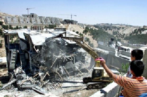 <p>[4887] 7  House demolition in the Shu'afat Refugee Camp in East Jerusalem.</p><p>Photo credit: Reinhard Krause, © Reuters</p>